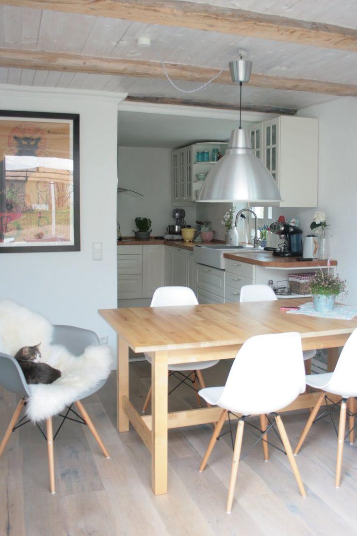 Schwedenhaus inneneinrichtung  Die 127 besten Bilder zu Wohnküche auf Pinterest | Eames, Tische ...