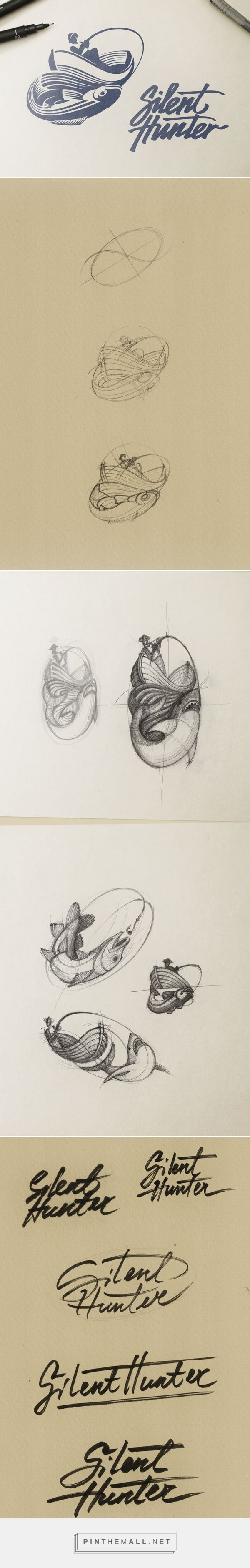 Logo creation process by Estudio Ramotion from an article by Manuel Ramírez for creativosonline.org #branding #design #logo