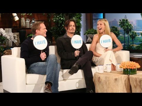 "Johnny Depp And Gwyneth Paltrow Played ""Never Have I Ever"" And Things Got VERY Personal. Too funny!"