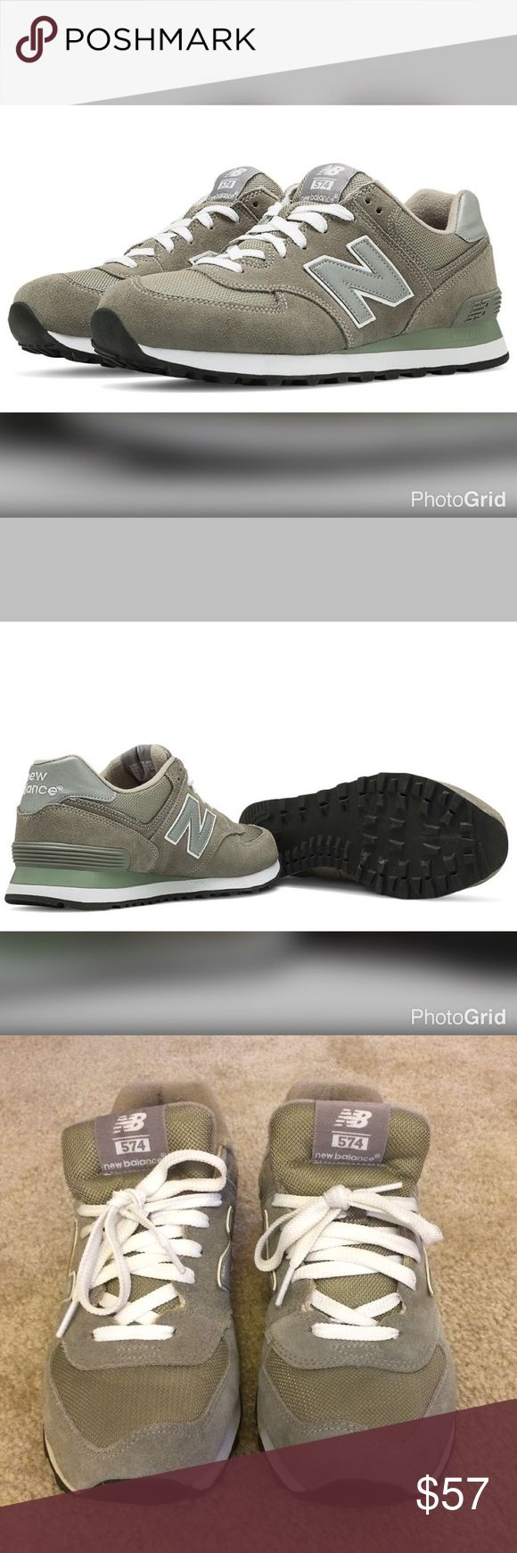 Unused Men's New Balance 574 Core Grey Sneakers Men's New Balance 574 Core Grey Sneakers Size 8.5W (they are true to size) ENCAP® midsole technology provides support and maximum durability. EVA (Ethyl Vinyl Acetate) foam midsole for cushioning. Solid rubber outsole. Suede/mesh upper. Unused. New Balance Shoes Sneakers