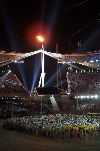 The Olympic Cauldron - Athens, Greece - 2004 Summer Olympic Games <3