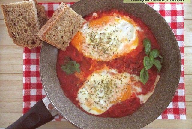 Uova alla pizzaiola light, Mangia senza Pancia