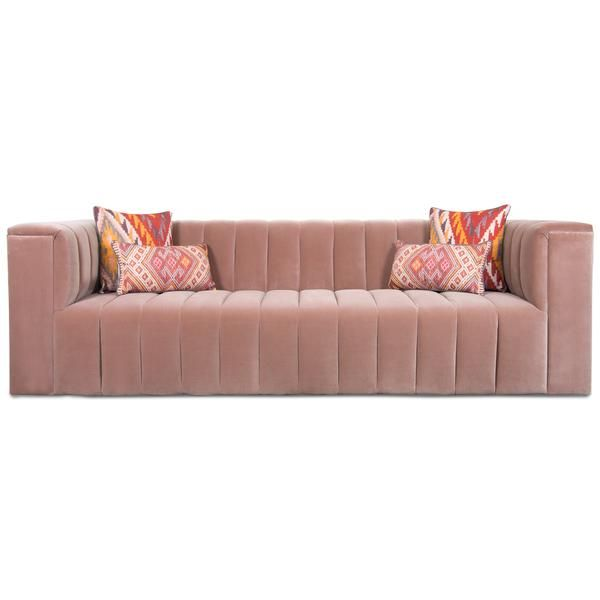 Monaco Sofa In Velvet In 2020 Sofa Velvet Furniture Tufted Couch
