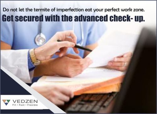 Do not let the termite of imperfection eat your perfect work zone.Get secured with the advanced check- up. #Vedzen https://www.vedzen.com