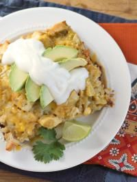 Chicken Rice Enchilada Casserole on MyRecipeMagic.com This casserole is much easier to make than regular enchiladas but has all the flavor you love!
