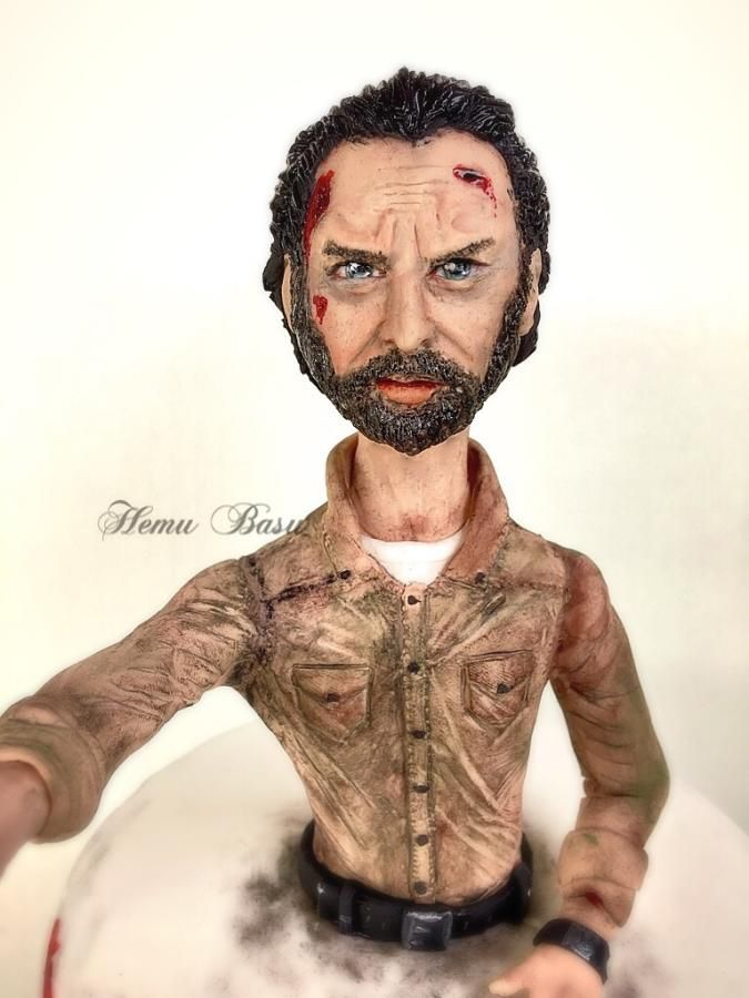 Rick from walking dead  by Hemu basu