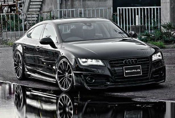 2015 Audi A7 Black