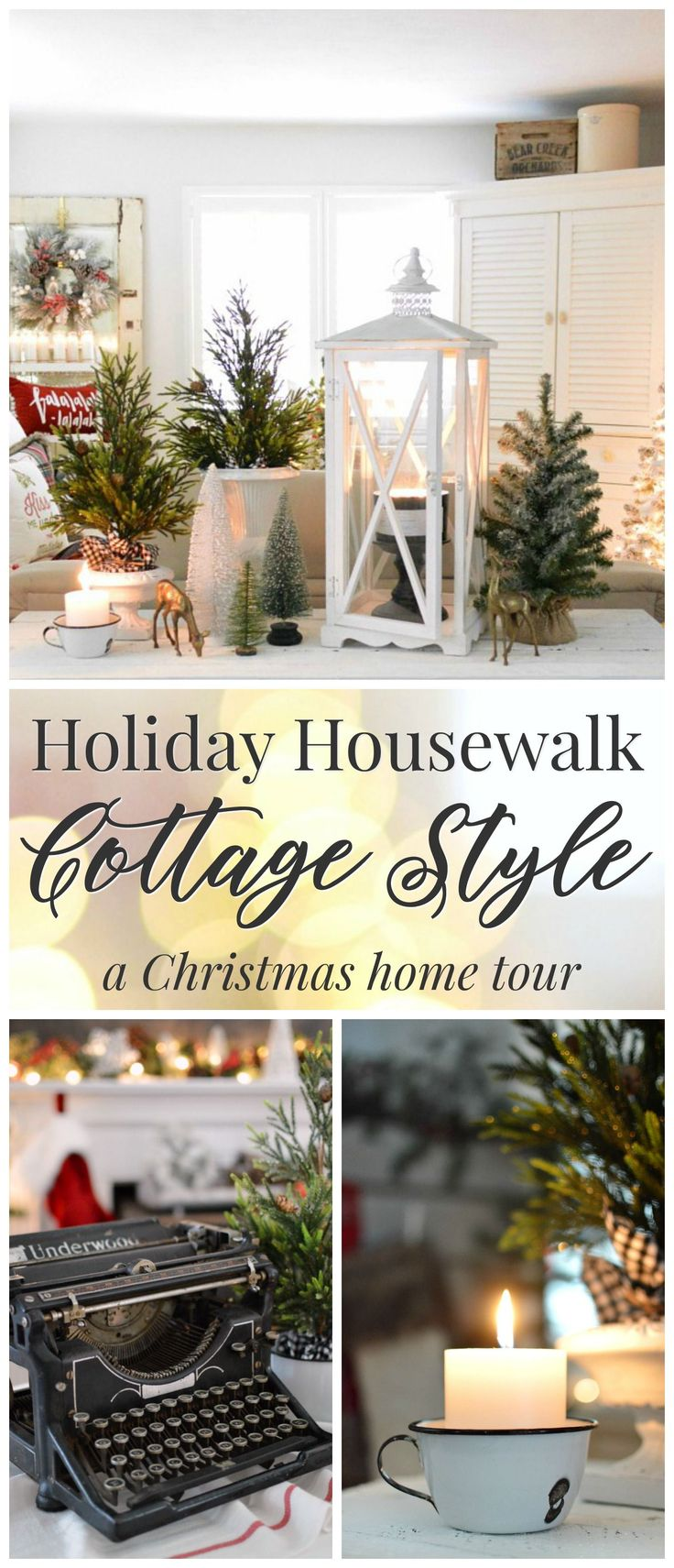 Holiday Housewalk Christmas at the cottage, home tour.