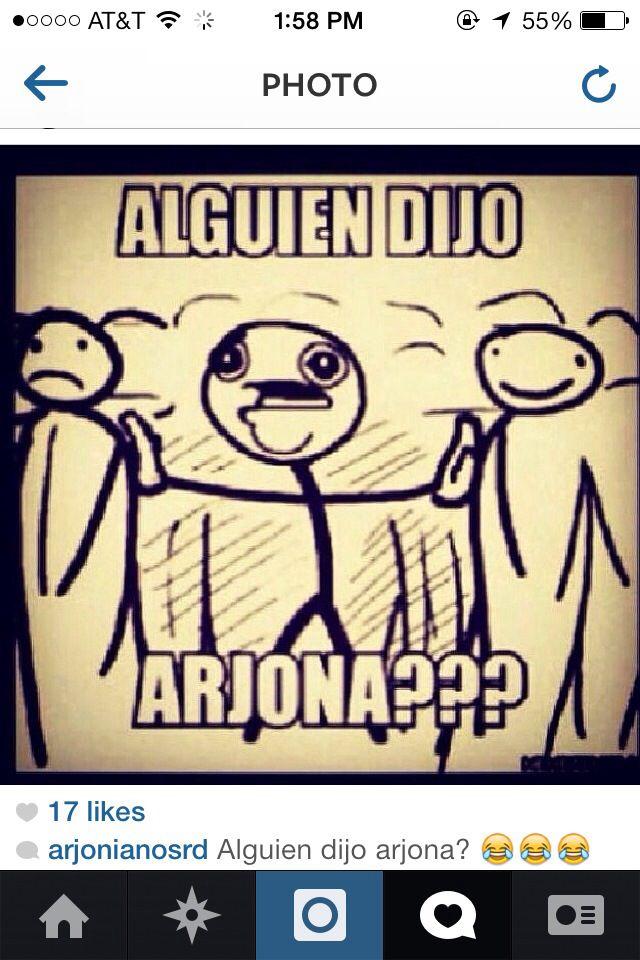 Ricardo Arjona fan #1