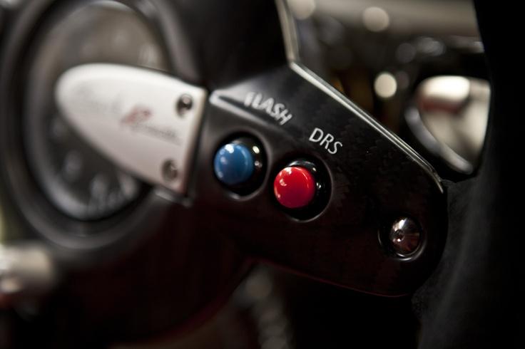 the DRS button.