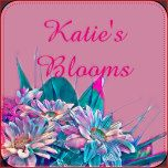 Bright and cheerful floral design ready for you add your own text.