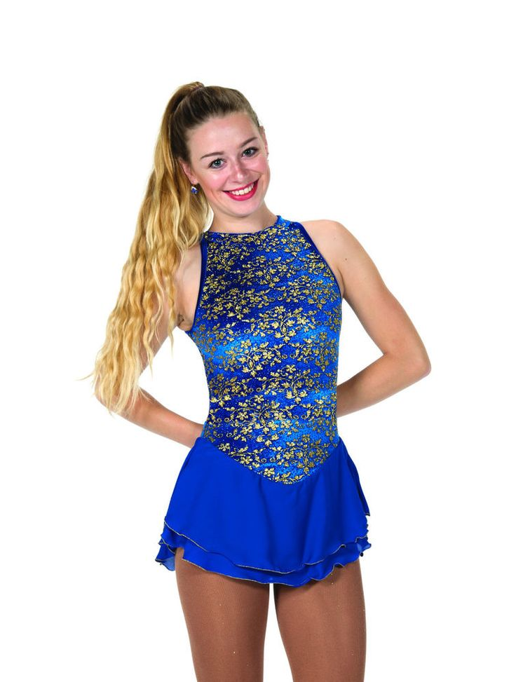 New Jerrys Competition Skating Dress 76 Ivy Leaugue Turquoise Made on Order