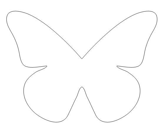 vlinder template
