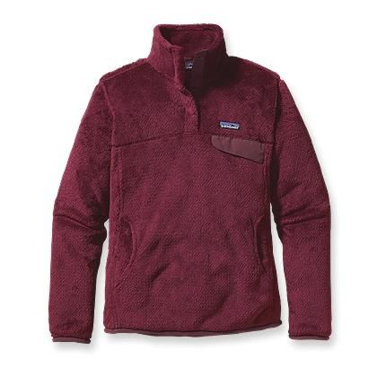 Patagonia Women's Re-Tool Snap-T® Pullover. Maroon for Trinity!