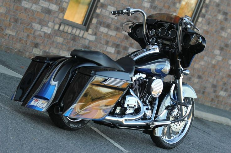 166 Best Images About Harley Davidson On Pinterest: Electra Glide Custom Extended Bags