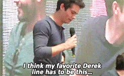 Asdfghjkl! Teen Wolf - Dylan O'Brien's (Stiles Stilinski) favorite Derek line