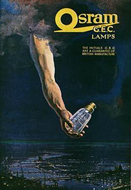 Vintage advertising posters | Osram