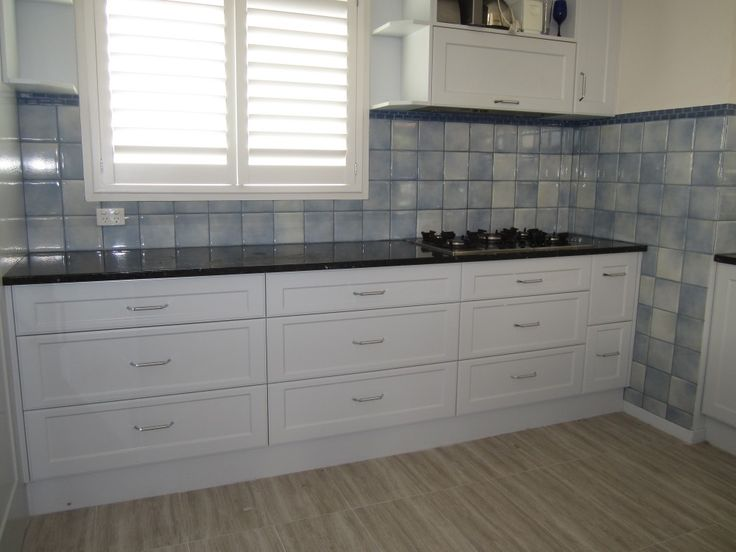 Before Old Blue Tiles