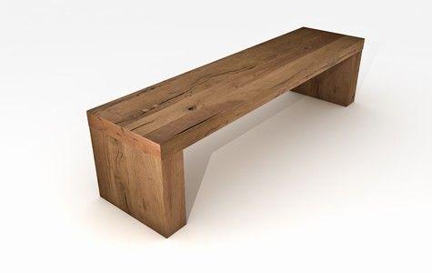 die besten 25 holzbank massiv ideen auf pinterest tischchen aus holzscheiten balken kaufen. Black Bedroom Furniture Sets. Home Design Ideas