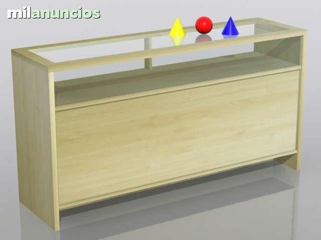 Mostradores vitrina de diferentes medidas y colores - Vitrina a medida ...