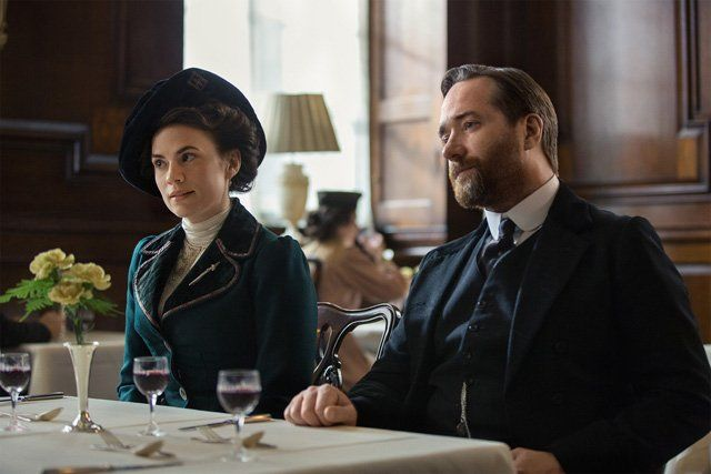 Starz, with the BBC, today released the first image from the limited series Howards End, based on the classic E.M. Forster novel.