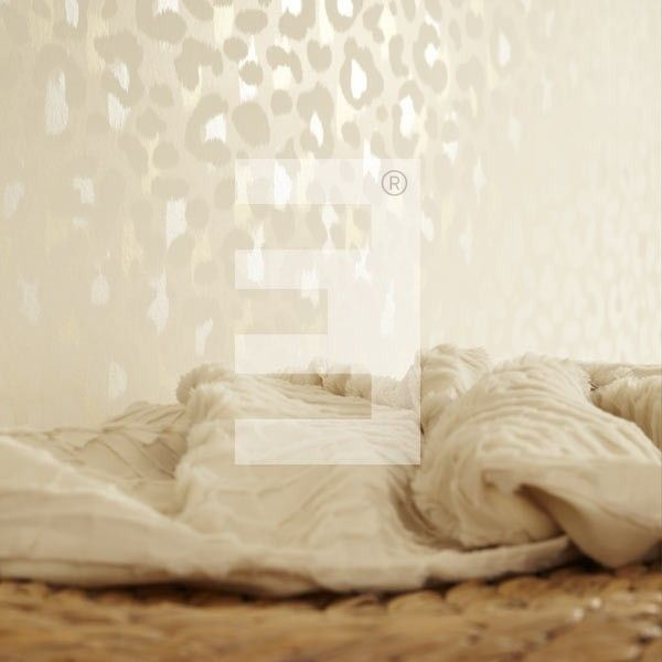 Eijffinger Ibiza behang 330240 luipaard leopard parelmoer mother of pearl