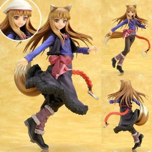 NEW hot 20 cm Spice and Wolf Holo action figure toys collection regalo Di Natale