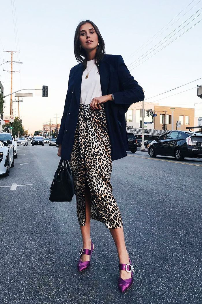 a36afdedf63f8 15 Dress Down Friday Looks That Will Turn Every Head in Your Office Leopard  Print Outfits