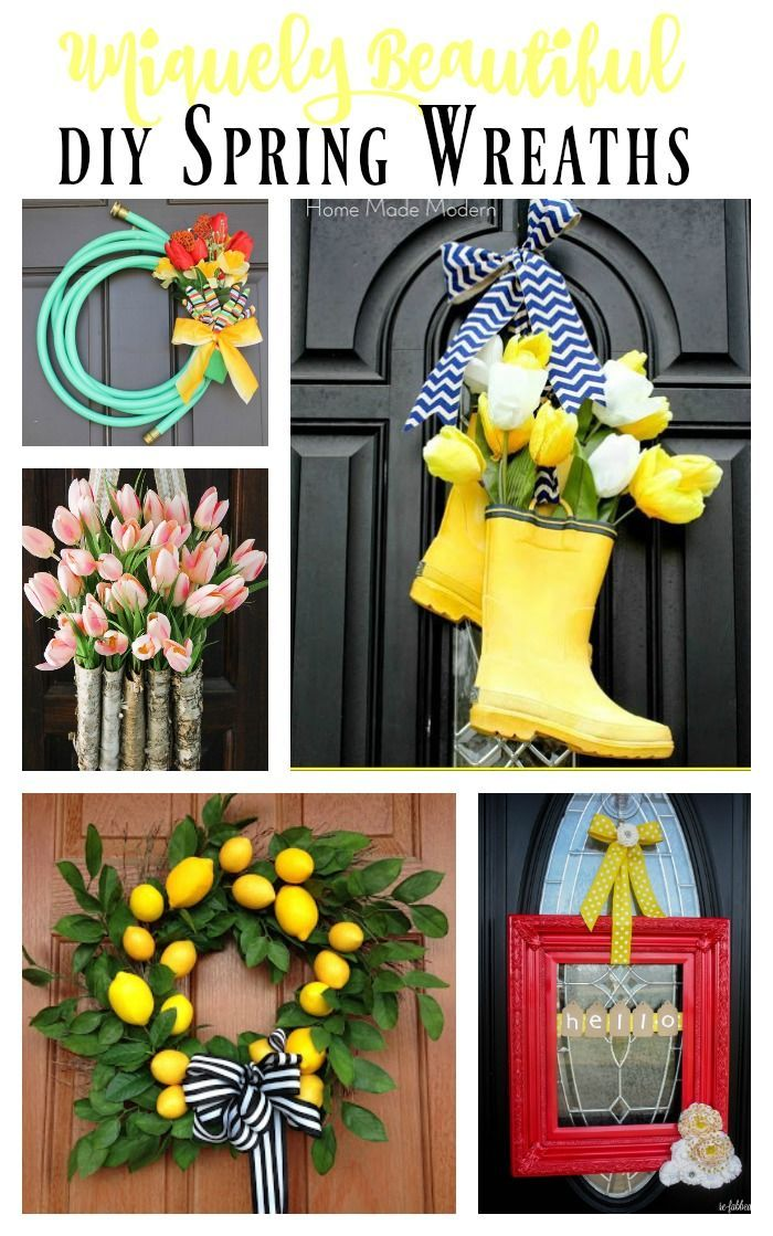 635 Best Images About Front Door Decorations On Pinterest