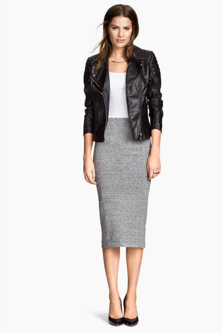 Falda de tubo | H&M Más