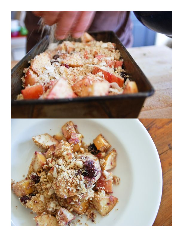 Apple And Blackberry Polenta Cobbler Recipes — Dishmaps