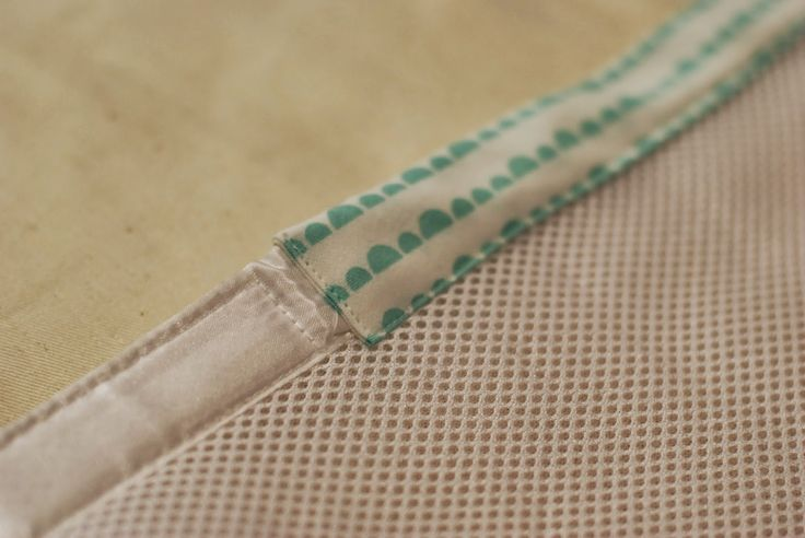 our little beehive: Tutorial: Add Custom Trim to a Breathable Crib Bumpers