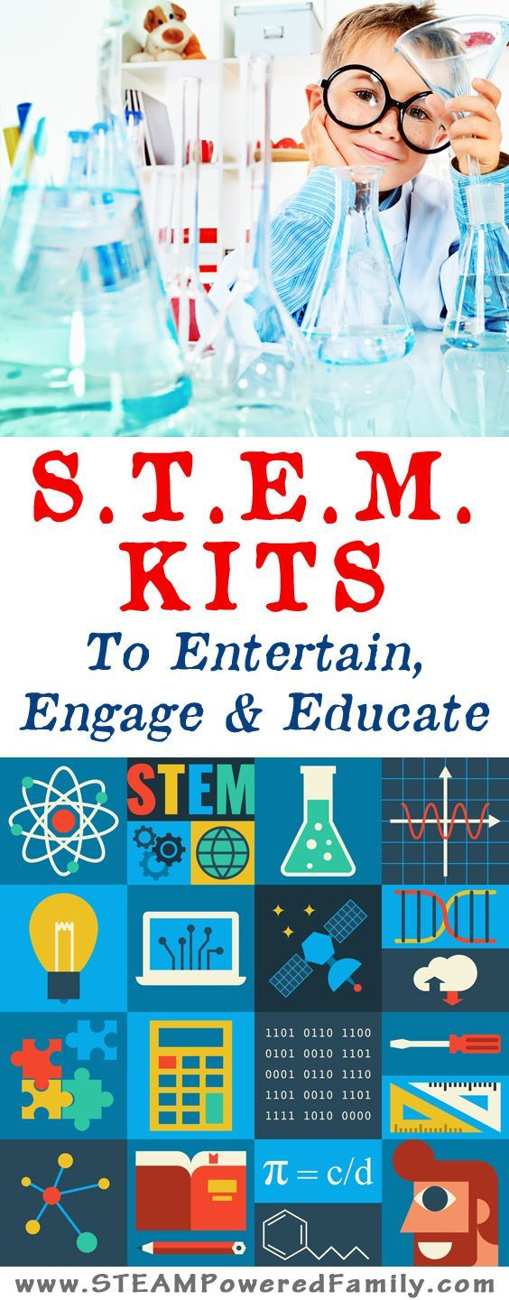 STEM Kits that engage, entertain and educate! These top picks include  monthly