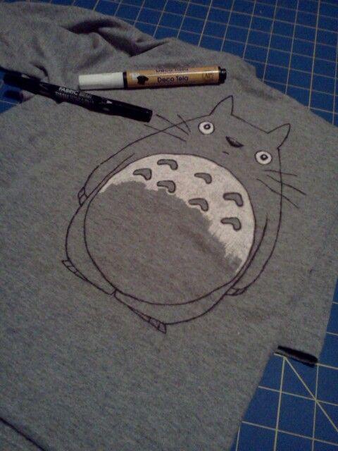 Tshirt Totoro à faire