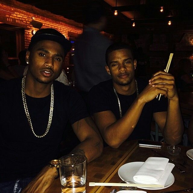 Trey songz & lil brother Forrest | Trigga Trey Songz ...