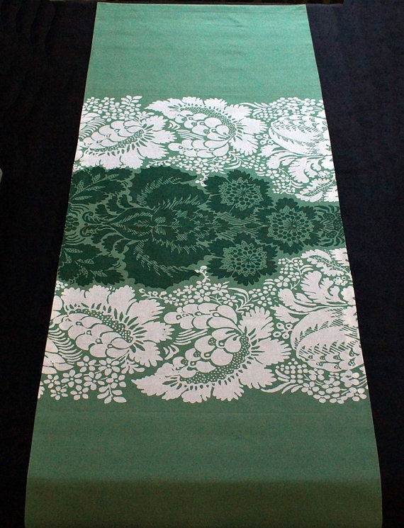 Marimekko Ananas Pineapple  Table Runner 1962 by FinnFabDesigns, $39.90