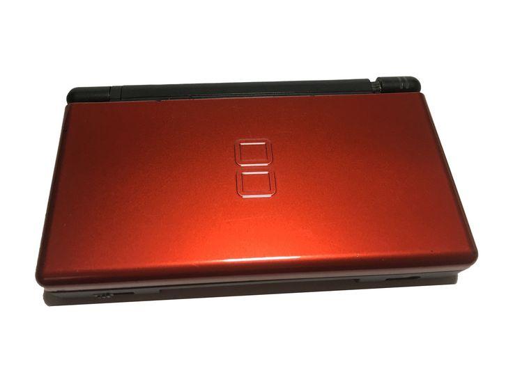 Nintendo DS Lite Crimson Red with charger  #nintendodslite #Nintendogames #NintendoDSGamingSystem #videogames #gameskids