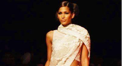Latest saree blouse designs from Indian Couture week in Mumbai   2008    saree blouse design