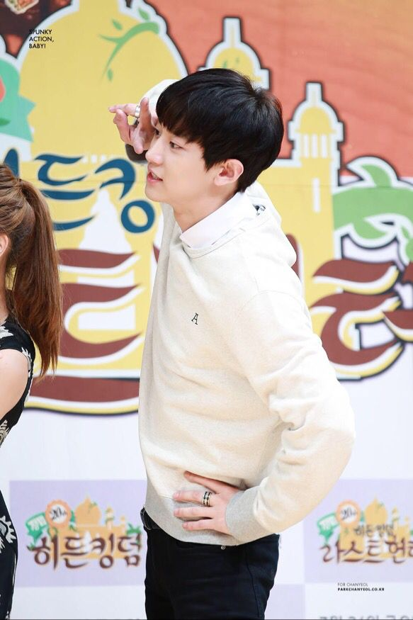 Chanyeol | 150721 'Law Of The Jungle' Press Conference