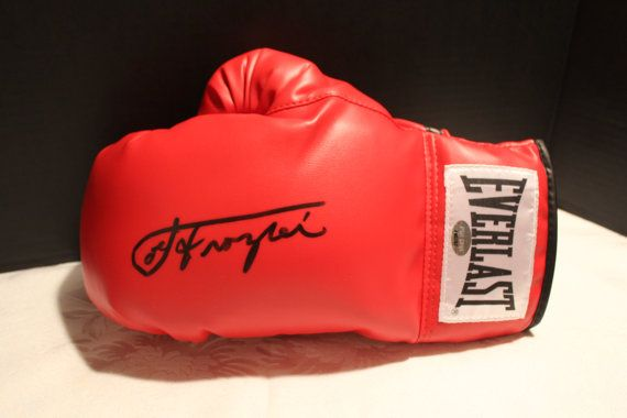 Joe Frazier Autographed Everlast Lace-up by OldSportsMemorabilia