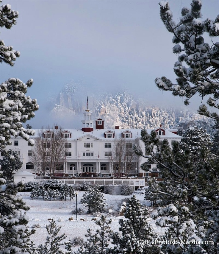 Stanley Hotel Ghost Photographed At Hotel That Inspired: The Stanley Hotel In Estes Park, Colorado..... Looks Too