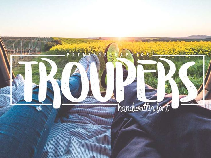 Troupers - Free Font
