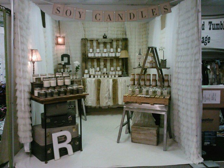 Rendezvous Soy Candles Display