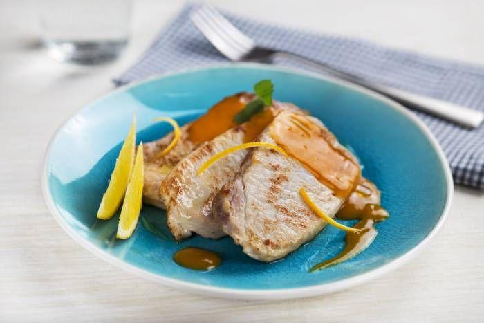 Filetti di maiale all'arancia #Star #ricette #filetto #maiale #arancia #food #recipes