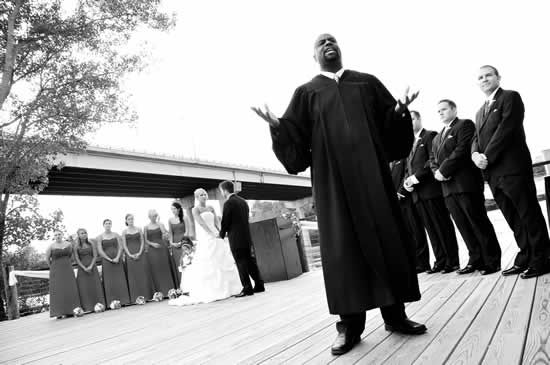 I didn't have him do my wedding in the end...but I still love this picture <3 Proud of my friend.