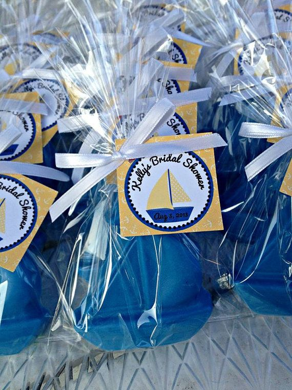 10 BOAT SOAP FAVORS (with Tags U0026 Ribbons)   Nautical Themed Birthday, Sail