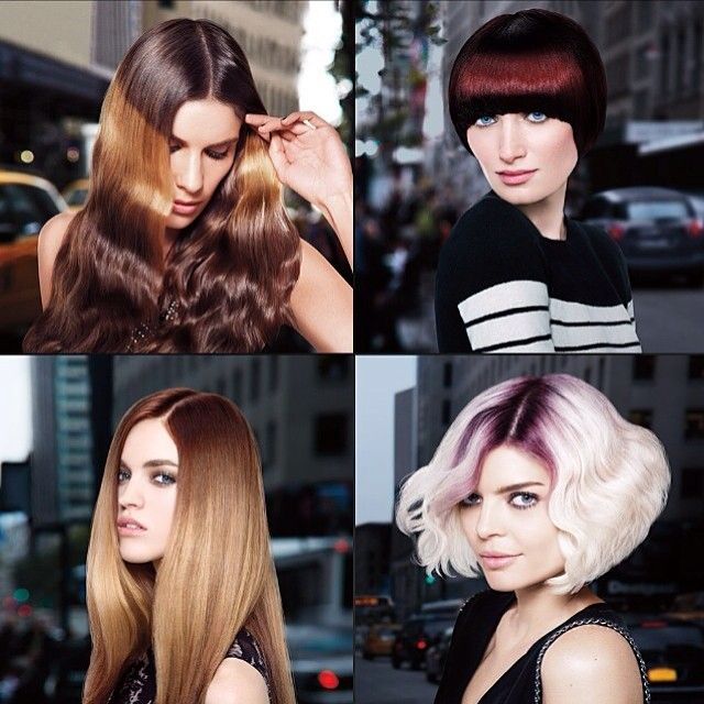 #Redken #Splashlights while not on these models, I saw these same exact styles done on other models for the show