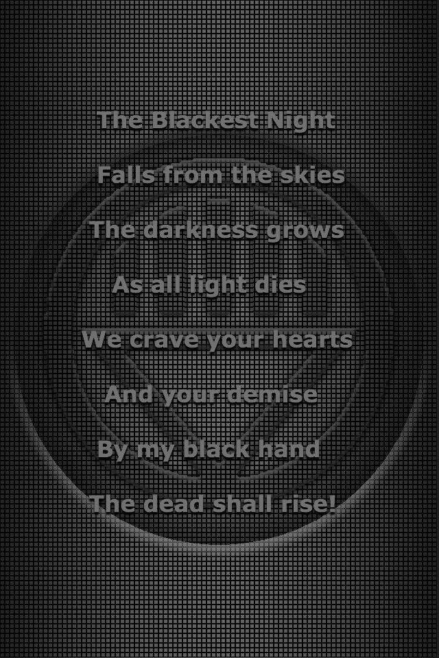 Black Lantern corps oath