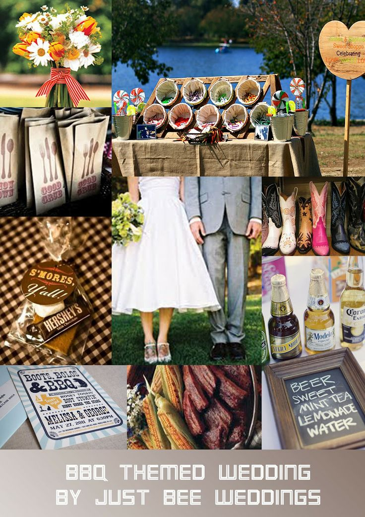 barbeque+weddings | Just Bee Fashion: BBQ Themed Wedding