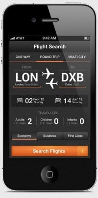 Flight Search App- SchoolandUniversity.com